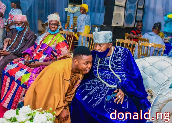 Woli Agba (Ayo Ajewole) and OLUWO of IWO