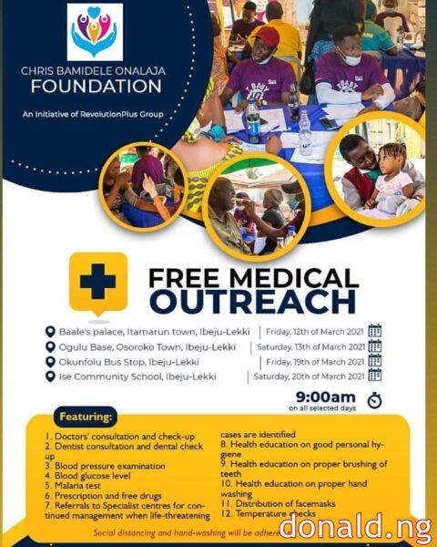 Chris Bamidele Onalaja Foundation