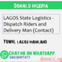 LAGOS State Logistics – Dispatch Riders and Delivery Man (Contact)